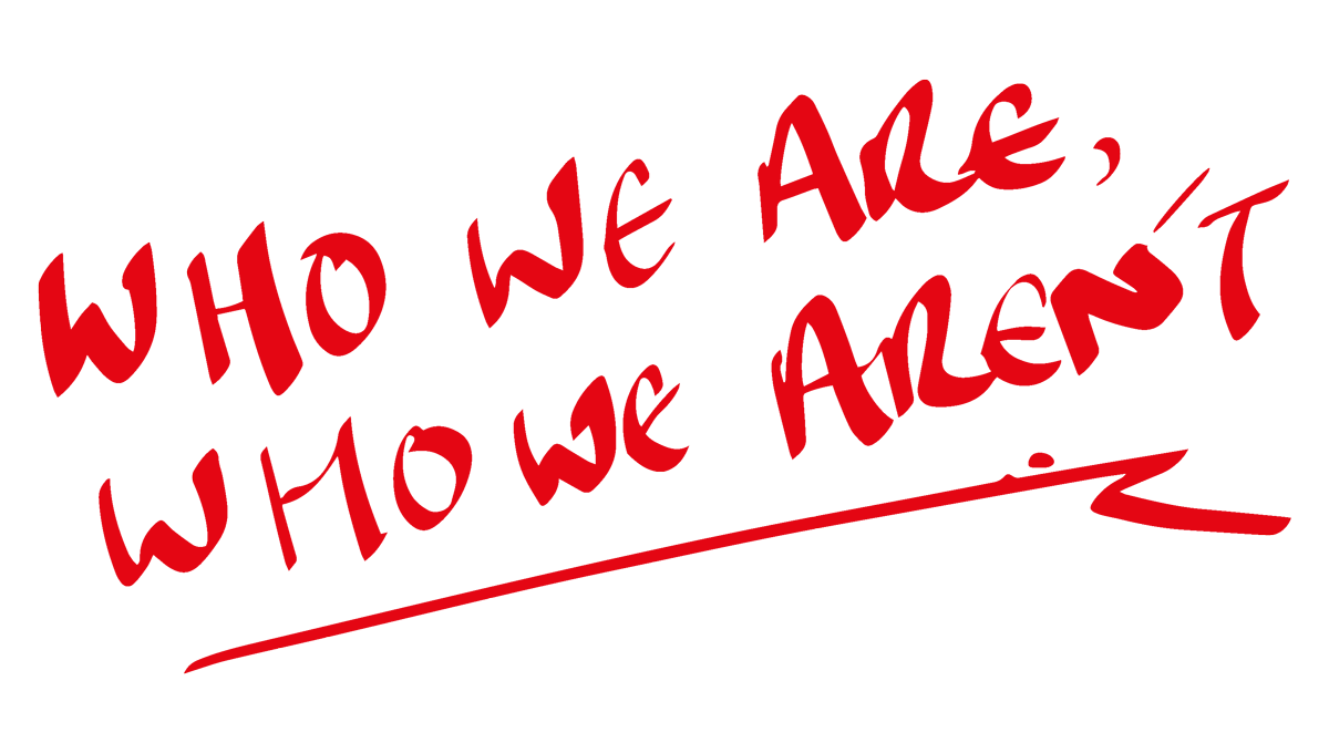 Who we are who we aren't front page image